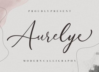 Aurelye Calligraphy Font