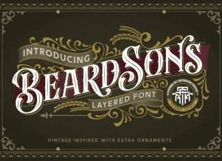 Beardsons Normal Blackletter Font