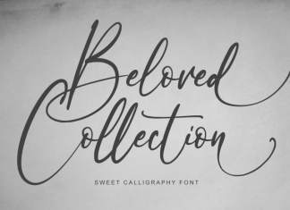 Beloved Collection Calligraphy Font