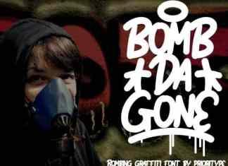 Bomb Da Gone Display Font