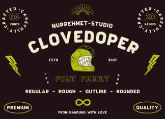 Clovedoper Display Font