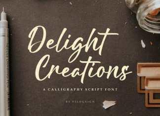 Delight Creations Script Font