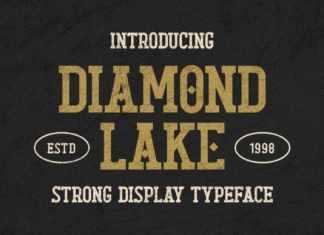 Diamond Lake Display Font