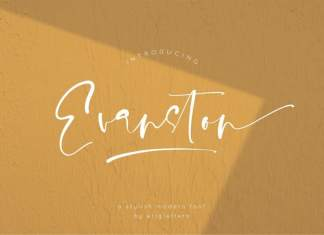 Evanston Script Font