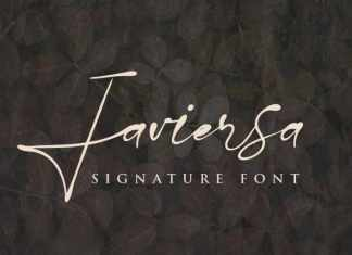 Javiersa Handwritten Font