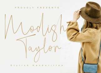 Modish Taylor Handwritten Font