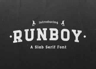 Runboy Slab Serif Font