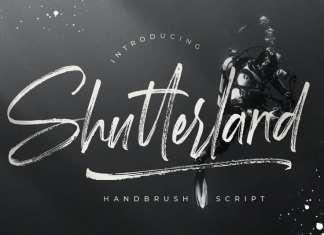 Shutterland Brush Font