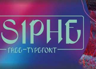 Siphe Display Font