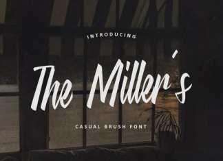 The Miller's Script Font