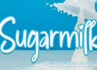 Sugarmilk Brush Font