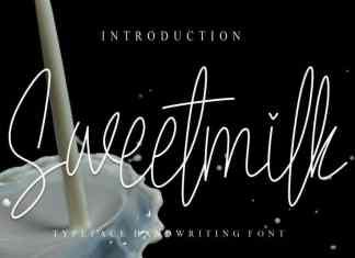 Sweetmilk Handwritten Font