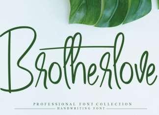 Brotherlove Script Font