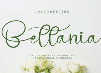 Bettania Calligraphy Font