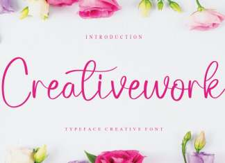 Creativework Calligraphy Font