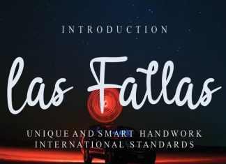 Las Fallas Script Font