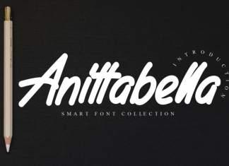 Anittabella Handwritten Font