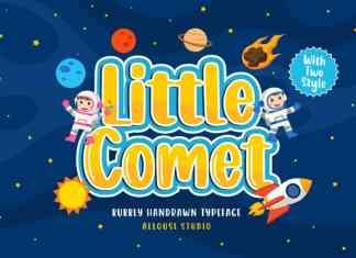 Little Comet Display Font