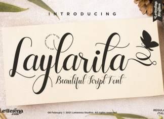 Laylarita Script Font