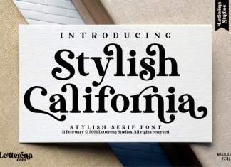 Stylish California Font