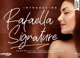 Rafaella Signature Script Font