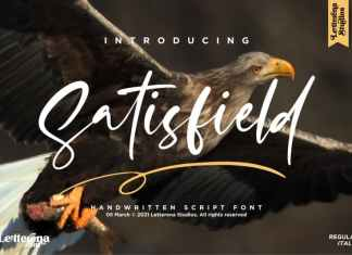 Satisfield Script Font