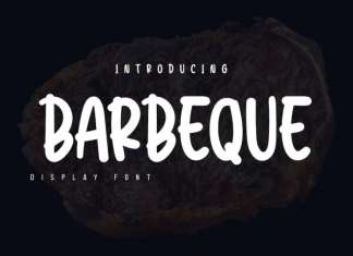 Barbeque Display Font