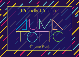 Automatic Display Font