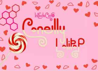 Conelly LolipoP Display Font