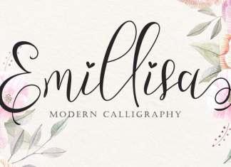 Emillisa Calligraphy Font