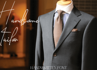 Handsome Tailor Handwritten Font