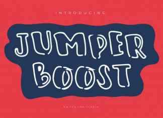Jumper Boost Display Font