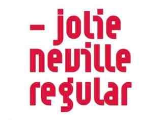 Jolie Neville Display Font