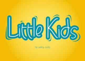 Little Kids Display Font