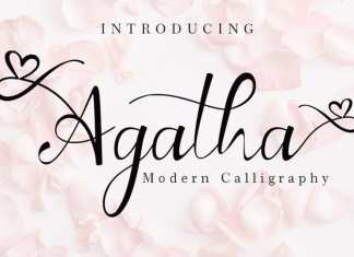 Agatha Calligraphy Font