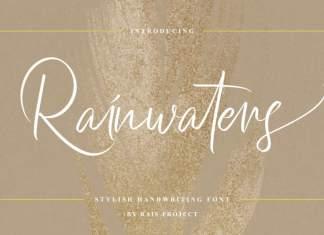 Rainwaters Script Font