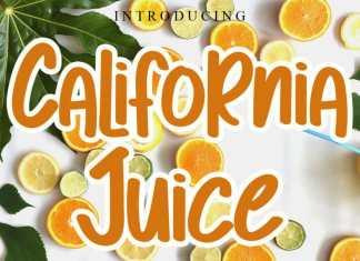 California Juice Display Font