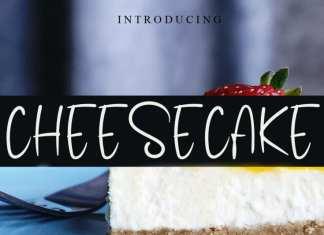 Cheesecake Display Font