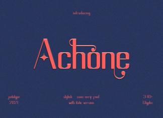 Achone Sans Serif Font