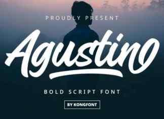 Agustin Script Font