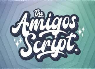 Amigos Bold Script Font