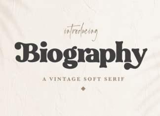 Biography Serif Font