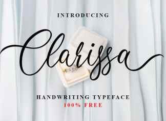 Clarissa Calligraphy Font