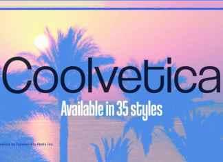 Coolvetica Sans Serif Font