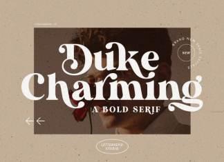 Duke Charming Serif Font