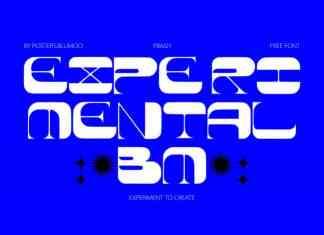 Experimental BM Free Font