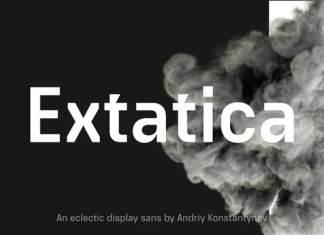 Extatica Sans Serif Font