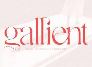 Gallient Serif Font