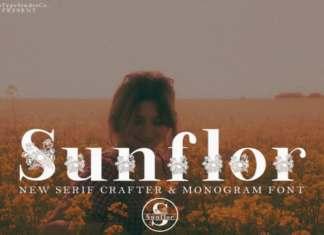 Sunflor Display Font