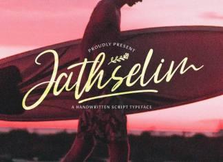 Jathselim Script Font